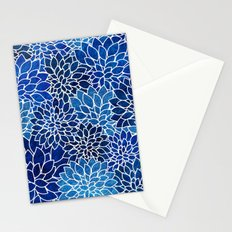 Floral Abstract 14 Stationery Cards