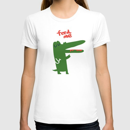 Hungry Hungry Alligator T-shirt