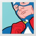 SLOH - Captain Doubt Canvas Print