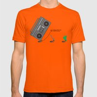 dunno 'bout you other ants, but I came to party! Mens Fitted Tee Orange SMALL