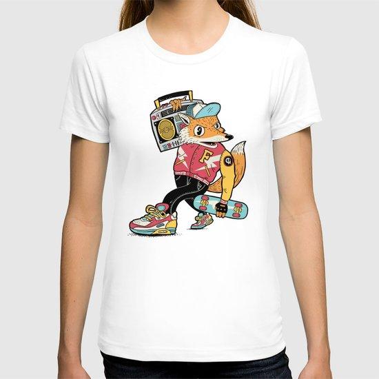 Thunder Foxes Crew T-shirt