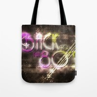 Back To The 80's Tote Bag