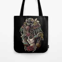Day of the Dead (Ancient Guardians) Tote Bag