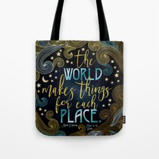 Rebel Of The Sands - For Each Place Tote Bag