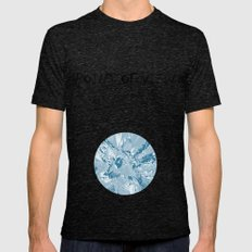 The blue mask Mens Fitted Tee Tri-Black SMALL
