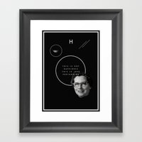 Fake Smile Sells Everyth… Framed Art Print