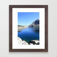 Anna Lake Framed Art Print