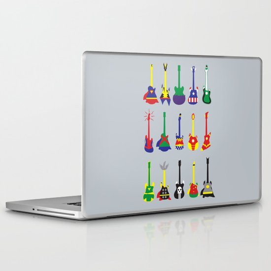 Guitar Heroes  Laptop & iPad Skin
