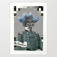 Sgt. Sputnik Art Print