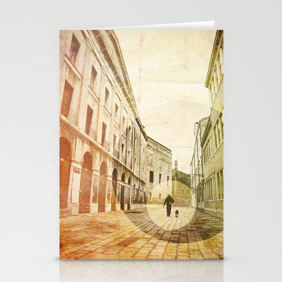 The Stroller Stationery Card
