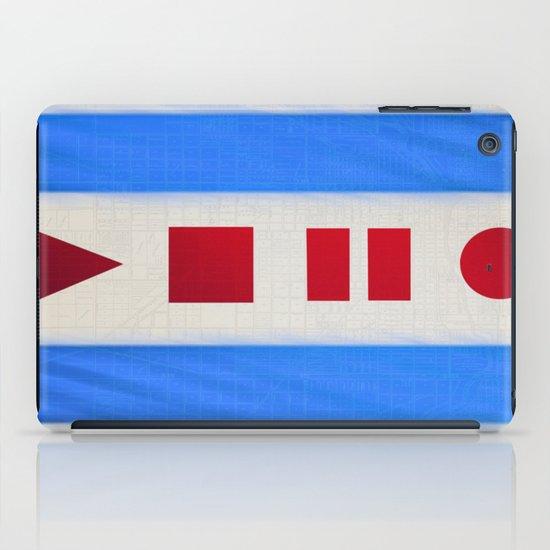 Chicago Flag iPad Case
