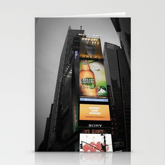 Times Square Stationery Card