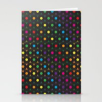 Disco Records Stationery Cards
