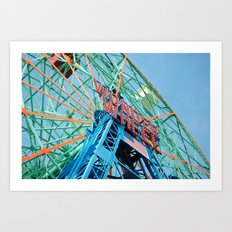 The Wonder Wheel Art Print