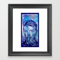 Talking About ART Is Lik… Framed Art Print