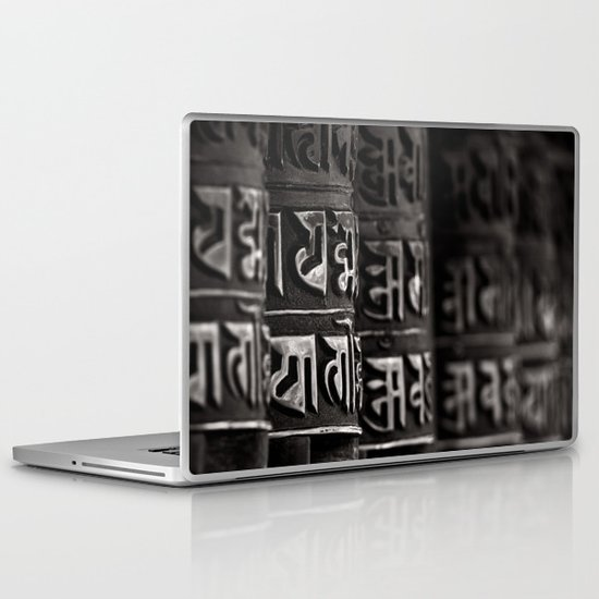 Monkey Temple Mani Wheels Laptop & iPad Skin