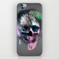 A Skull iPhone & iPod Skin