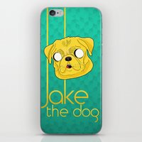 Jake the dog iPhone & iPod Skin