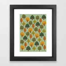 Autumn  Forest Framed Art Print