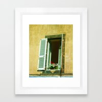 Paris 4 : Peep Framed Art Print