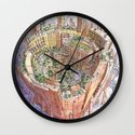 La Citta' Circolare Wall Clock