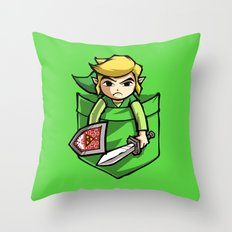 Pocket Link Throw Pillow