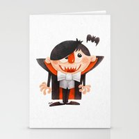 Dracula Kid Stationery Cards