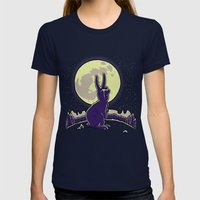 The Rabbit Womens Fitted Tee Navy SMALL