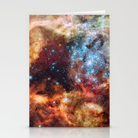 Star Clusters Stationery Cards