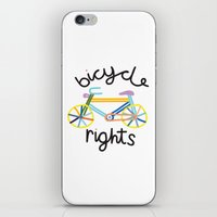 Bicycle rights iPhone & iPod Skin