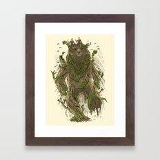 Treebear Framed Art Print