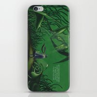 POEM OF INSECTS iPhone & iPod Skin