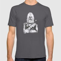 Wookie 007 Mens Fitted Tee Asphalt SMALL