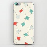 Tape cats iPhone & iPod Skin