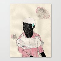 Lucky-Girly You Canvas Print