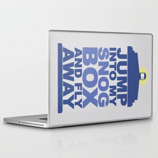 Snog Box (Tardis) Laptop & iPad Skin