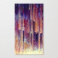 Triaglitch Canvas Print