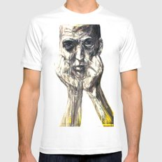 Blakely Mens Fitted Tee SMALL White