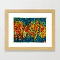 Separation Anxiety Framed Art Print