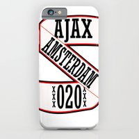 iPhone & iPod Case featuring AJAX AMSTERDAM 020 by The Voetbal Factory