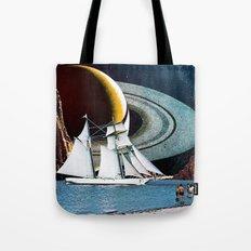 Orbital Sailing Tote Bag