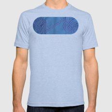 Internity or Circle of life Mens Fitted Tee Athletic Blue SMALL