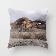 Moon Rock Throw Pillow