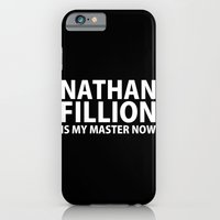 iPhone & iPod Case featuring Nathan Fillion Is My Master Now by grigiomedio
