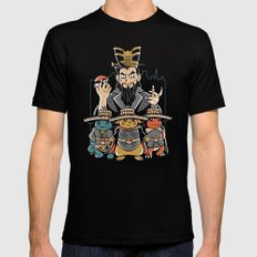 Big Trouble in Little Kanto  SMALL Black Mens Fitted Tee