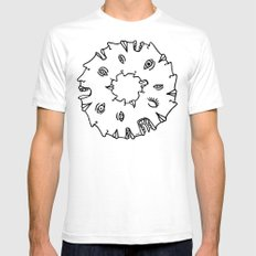 Doughnut Time Mens Fitted Tee White SMALL