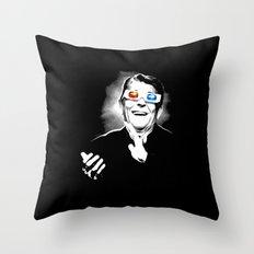 Reaganesque Throw Pillow