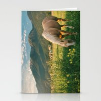 Pretty Horse Eating Gras… Stationery Cards
