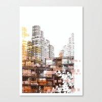 City scape I Canvas Print