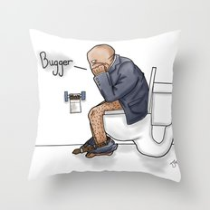 Bugger... Throw Pillow